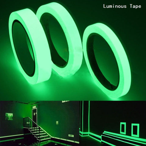 Luminous Tape 1.5cm*1m 12MM 3M Self-adhesive Tape