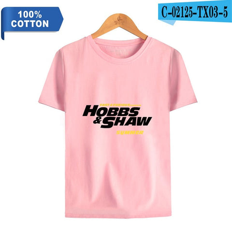 Fast & Furious Presents: Hobbs & Shaw cool printed New Movie T-shirt