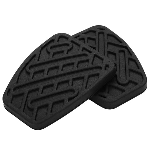 Pair Of Brake And Clutch Pedal Pad Rubber Cover For Nissan Qashqai 46531Jd00A (Manual)