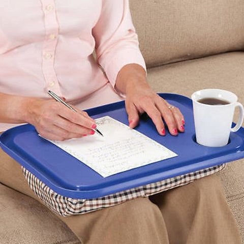 Portable 42 x 33cm Handy Lap Tray Laptop