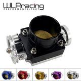 WLR RACING - UNIVERSAL THROTTLE BODY 80MM THROTTLE BODY PERFORMANCE INTAKE MANIFOLD BILLET ALUMINUM HIGH FLOW WLR6980