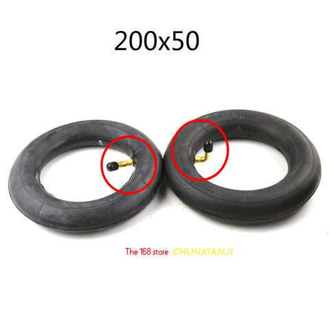 8 inch tire electric scooter 200x50 Inner Tube200*50 motorcycle part for Razor Scooter E100 E150 E200 eSpark Crazy Cart scooters