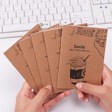 Japanese Small Fresh Good Time Kraft Paper Notebook