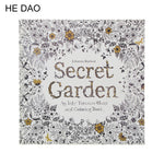 24 Pages Secret Garden English Edition Coloring Book