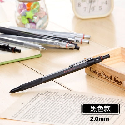 High Quality 0.5/0.7/0.9/2mm rotring Mechanical Automatic Pencil