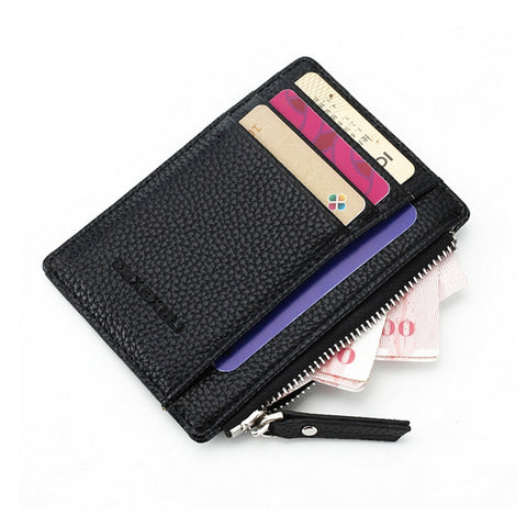 1PCS Assurance soft Leather Card Holder