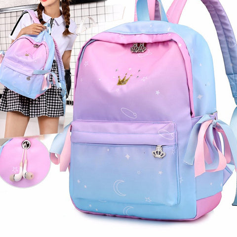 ABDB-Orthopedic Backpacks School Children Schoolbags