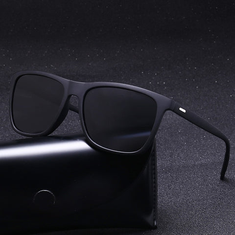 Sunglasses Men Polarized Oversized Mirror