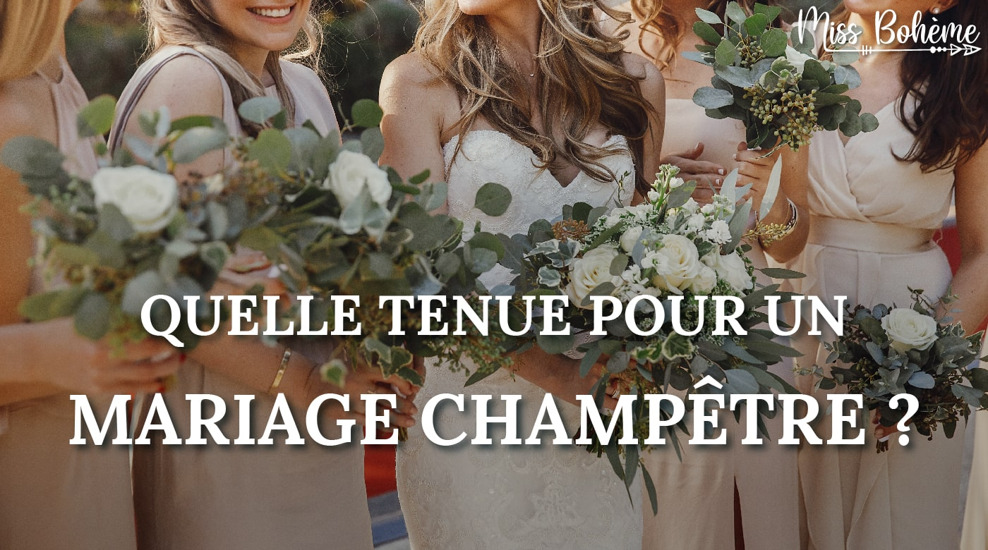 tenue mariage champetre
