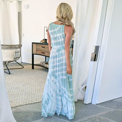 Robe Longue Tie and Dye