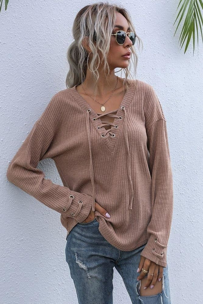 Sweat Bohème Chic - S / Camel