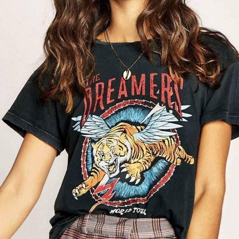 T-shirt Vintage The Dreamers - S