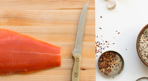 Quick-Cured Slow-Roasted Salmon with a Twist Recipe