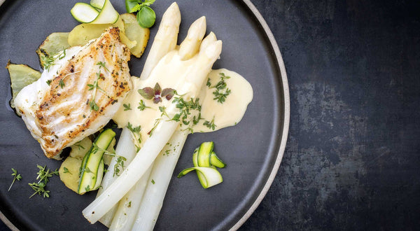 Poached Cod or Salmon with Sauce Sandefjord Recipe