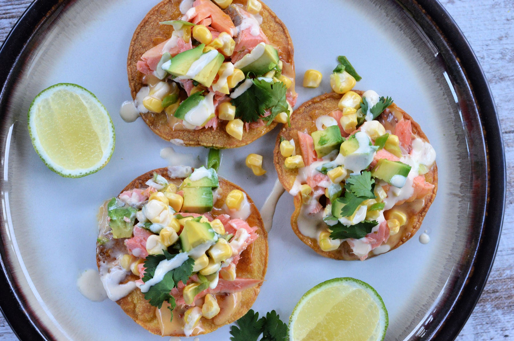 Coho Salmon Tostadas Recipe