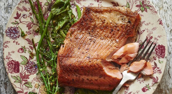 The Hand's Pan Roasted Sockeye Salmon Recipe