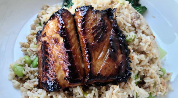 Honey Garlic Marinated Sablefish (Black Cod) Recipe