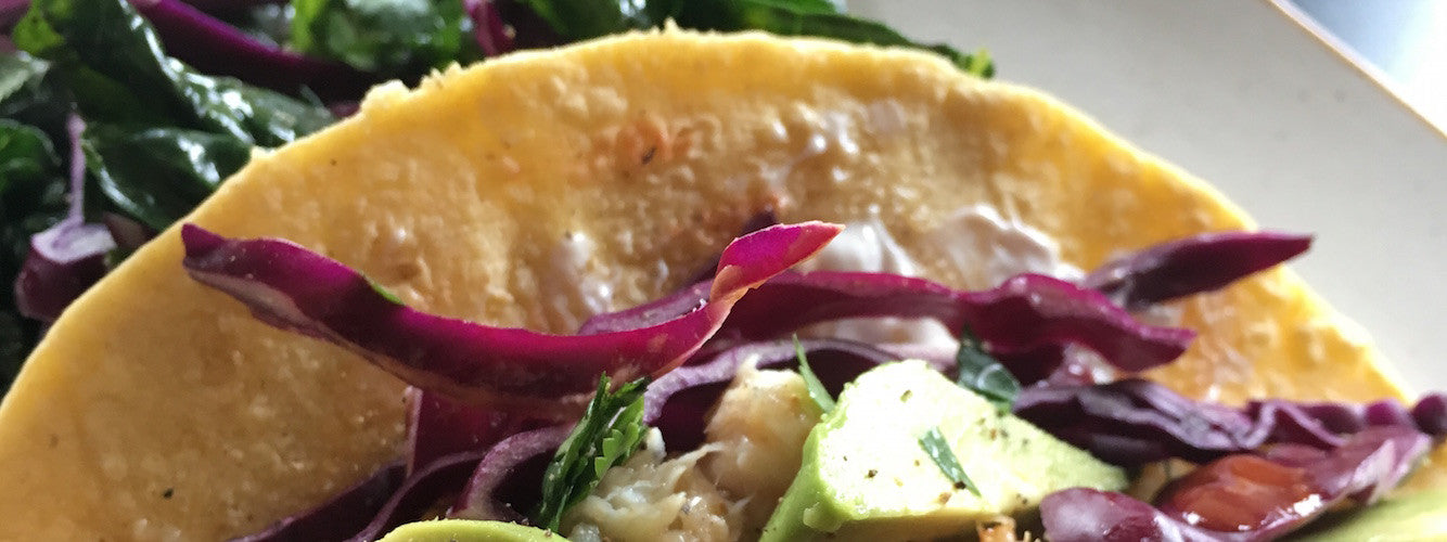 Simple Beer-Battered Rockfish Tacos Recipe