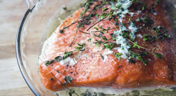 Marsh's Big Butter King Salmon Recipe