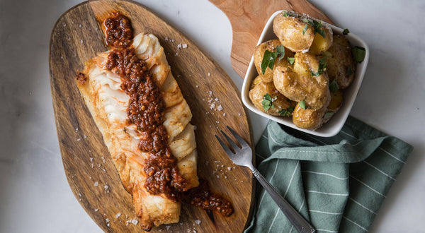 Mike's Red Chermoula Sablefish (Black Cod) Recipe