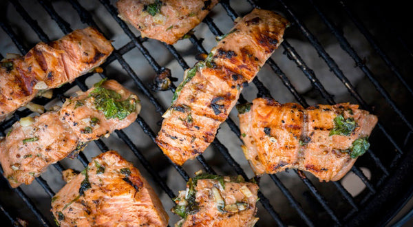 Olen's Grilled Salmon Recipe