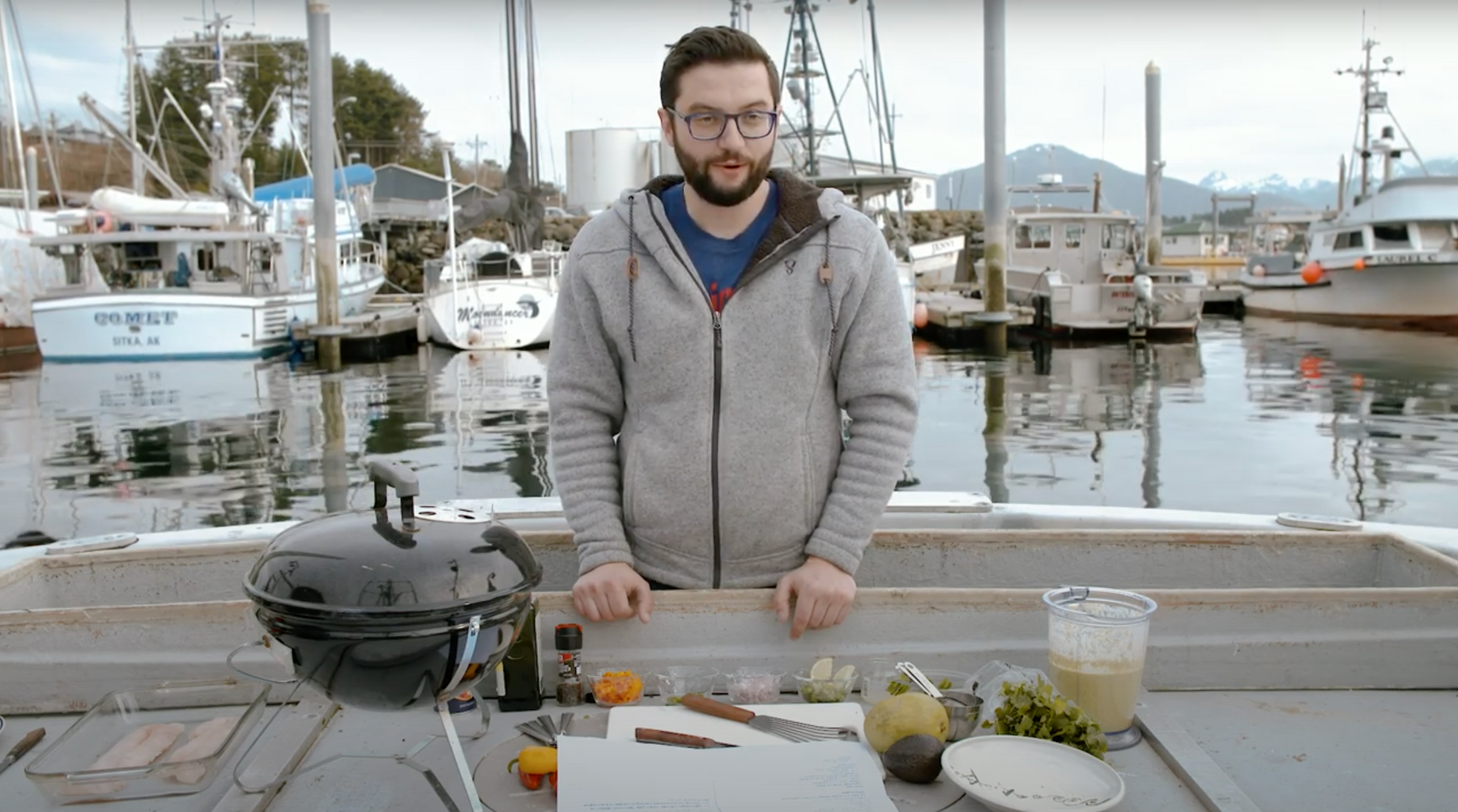 Boat Deck Cookin': Episode #6 Video