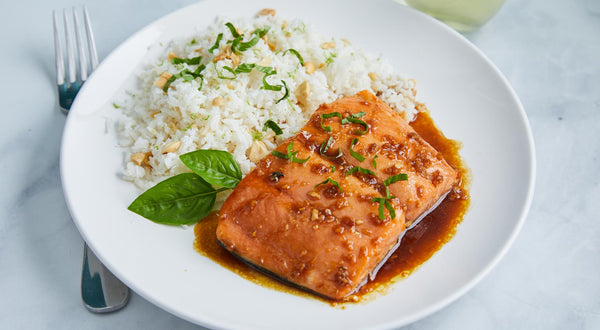 Walter's Spicy Grapefruit Salmon Recipe