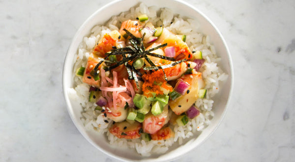 Spicy Sesame Poké Bowl Recipe