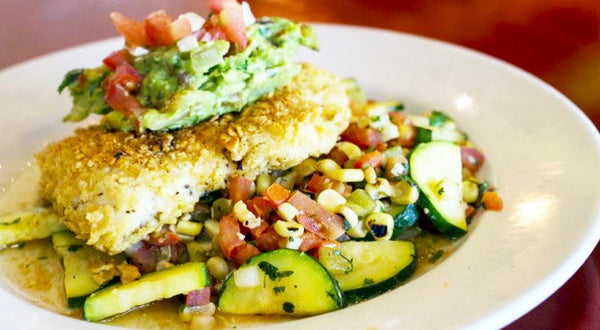 Tortilla Crusted Dusky Rockfish Recipe