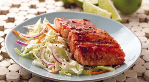 Brown Sugar Glazed Sockeye Salmon Recipe