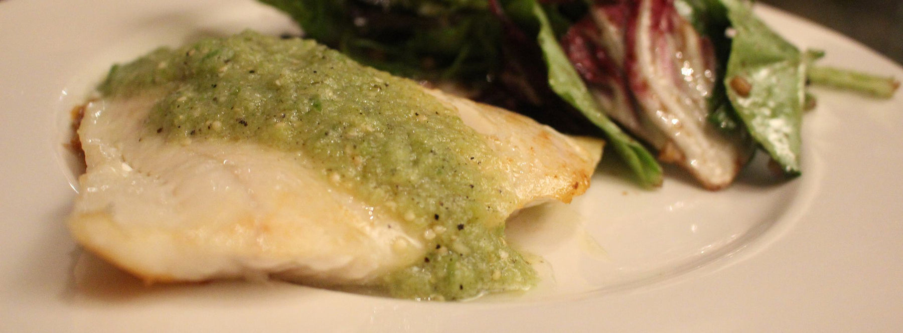 Pacific Cod in Tomatillo Sauce Recipe