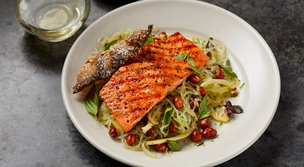 Sockeye Salmon with Spiced Coffee Rub Recipe