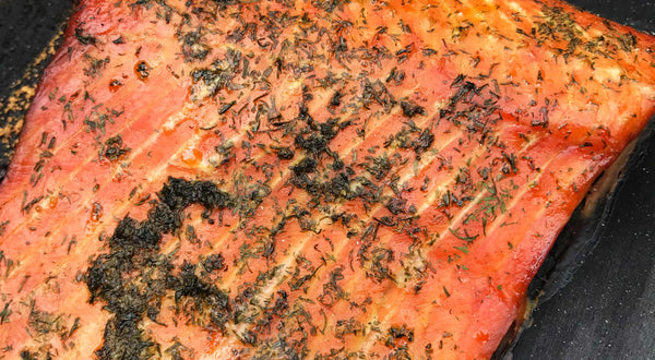 Eugene's Dill Smoked Salmon Recipe