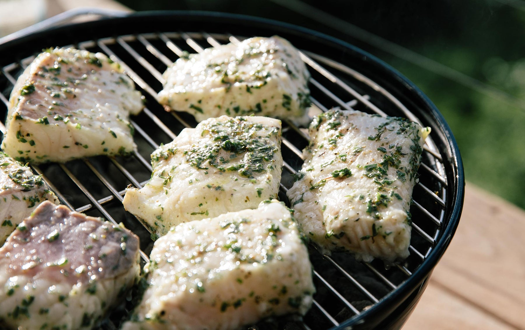 Joe's Herb Grilled Lingcod Recipe
