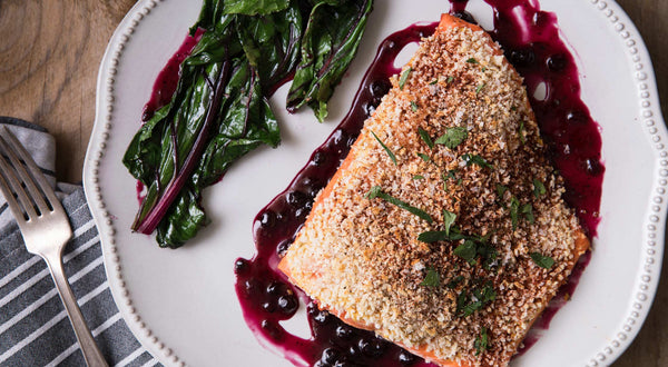 Henry's Huckleberry Salmon Recipe
