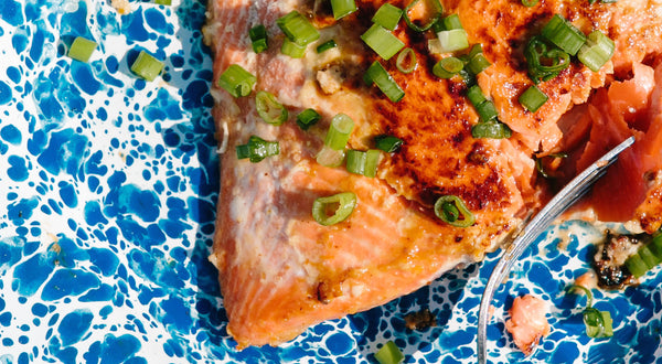Nora's Orange-Miso Sockeye Salmon Recipe