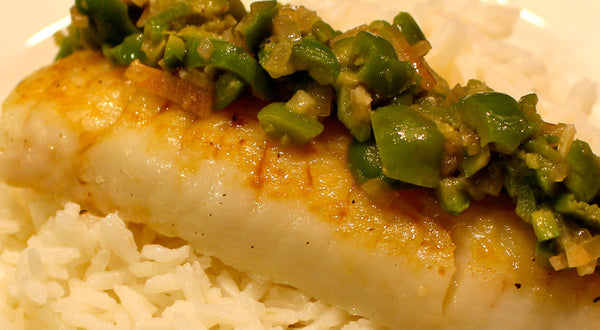 Pacific Cod with Lemon and Olives Recipe