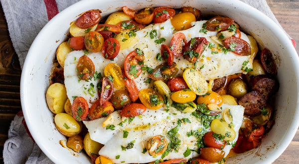 Portuguese Cod with Potatoes and Chorizo Recipe