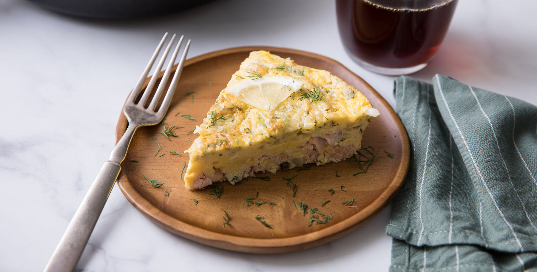 Sheri's Breakfast Salmon & Caper Frittata Recipe