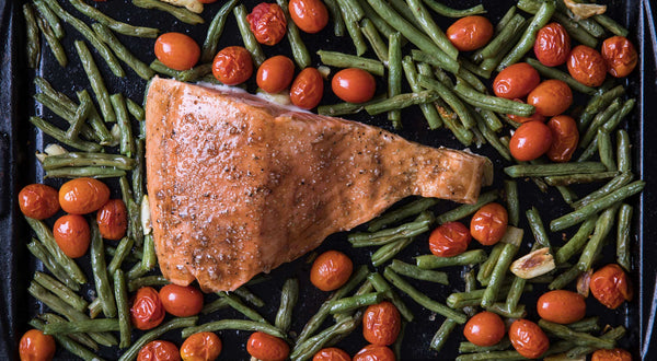 Sheet Pan Balsamic Salmon Recipe