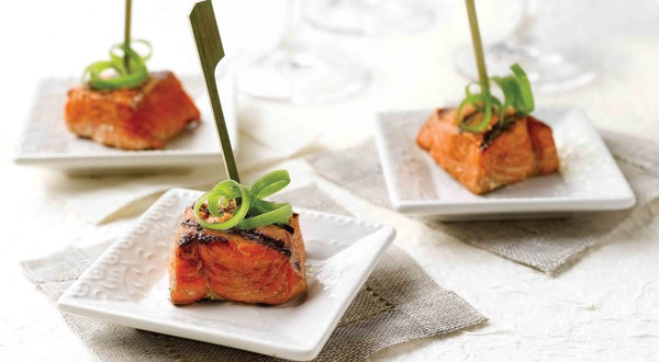 Orange Ginger Salmon Bites Recipe