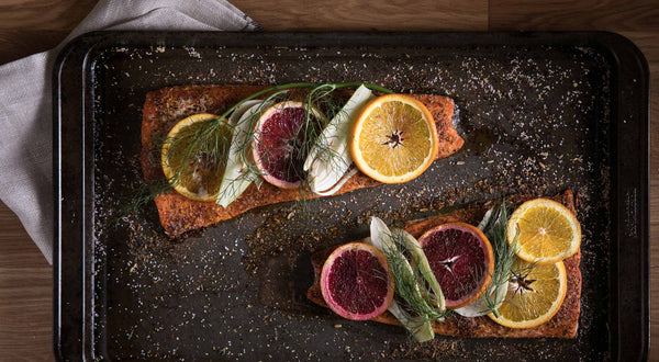Slow & Low Coho Salmon with Citrus & Fennel Recipe