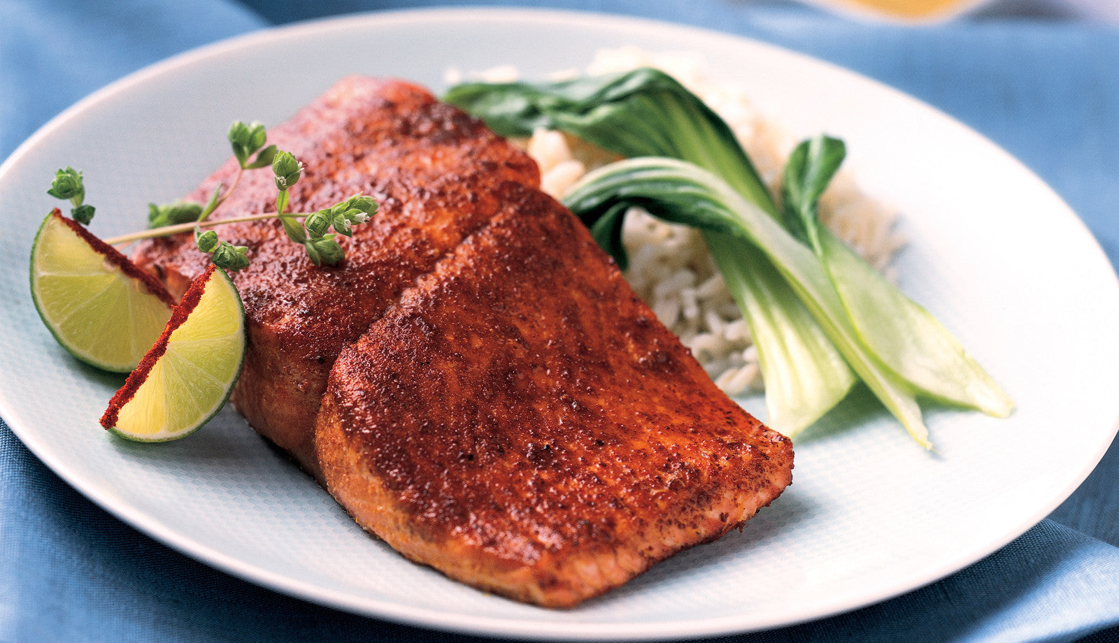 Charred Sugar-Crusted Salmon Recipe