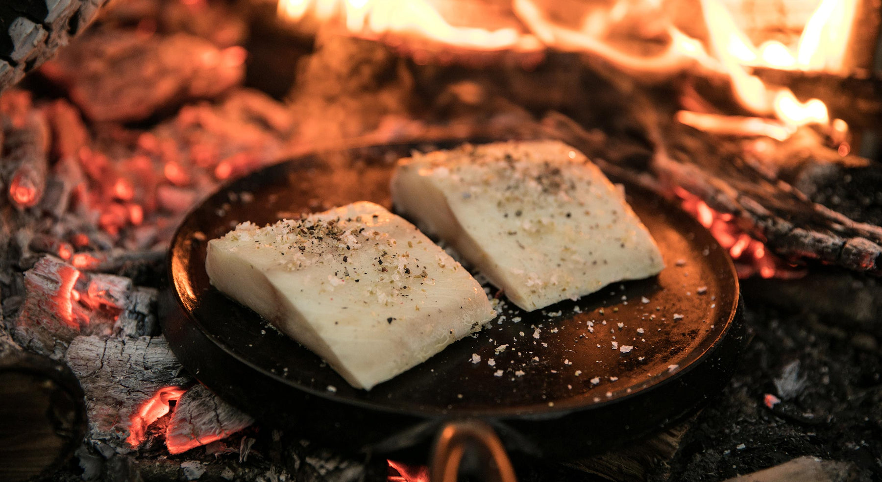 Wood-Fire Grilled Sablefish (Black Cod) Recipe