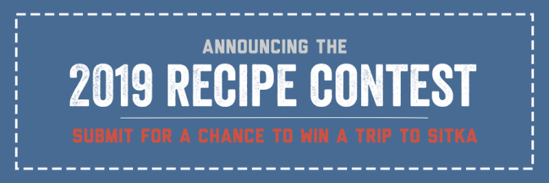Announcing the 2019 Recipe Contest