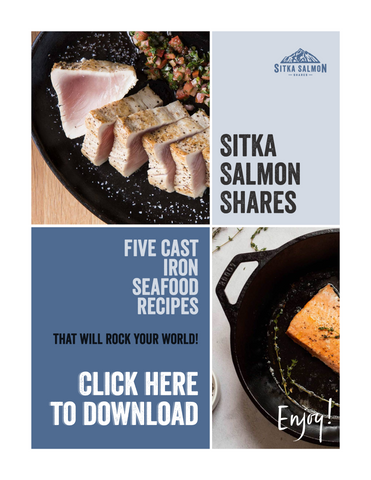 Five Cast Iron Seafood Recipes - Click here to download!