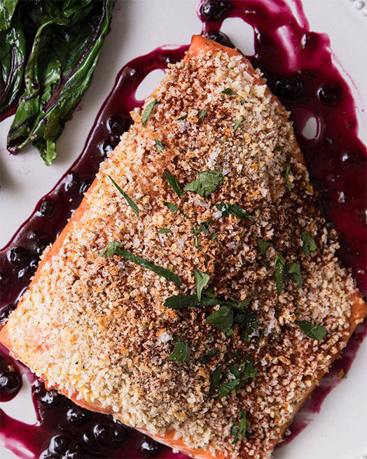 Henry's Huckleberry Salmon Recipe | Sitka Salmon Shares