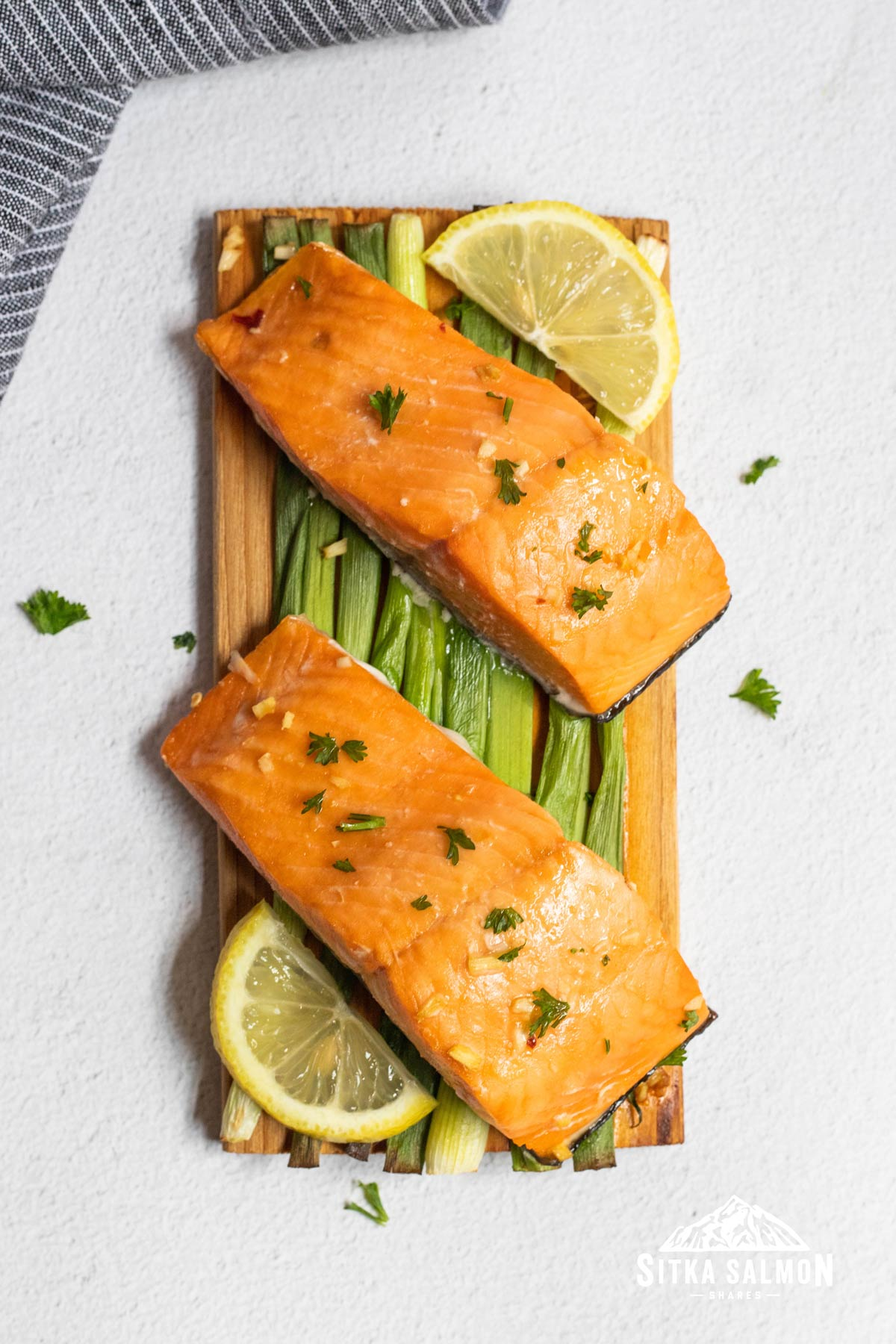 Planked Sockeye Salmon with Maple Soy Glaze Recipe | Sitka Salmon Shares
