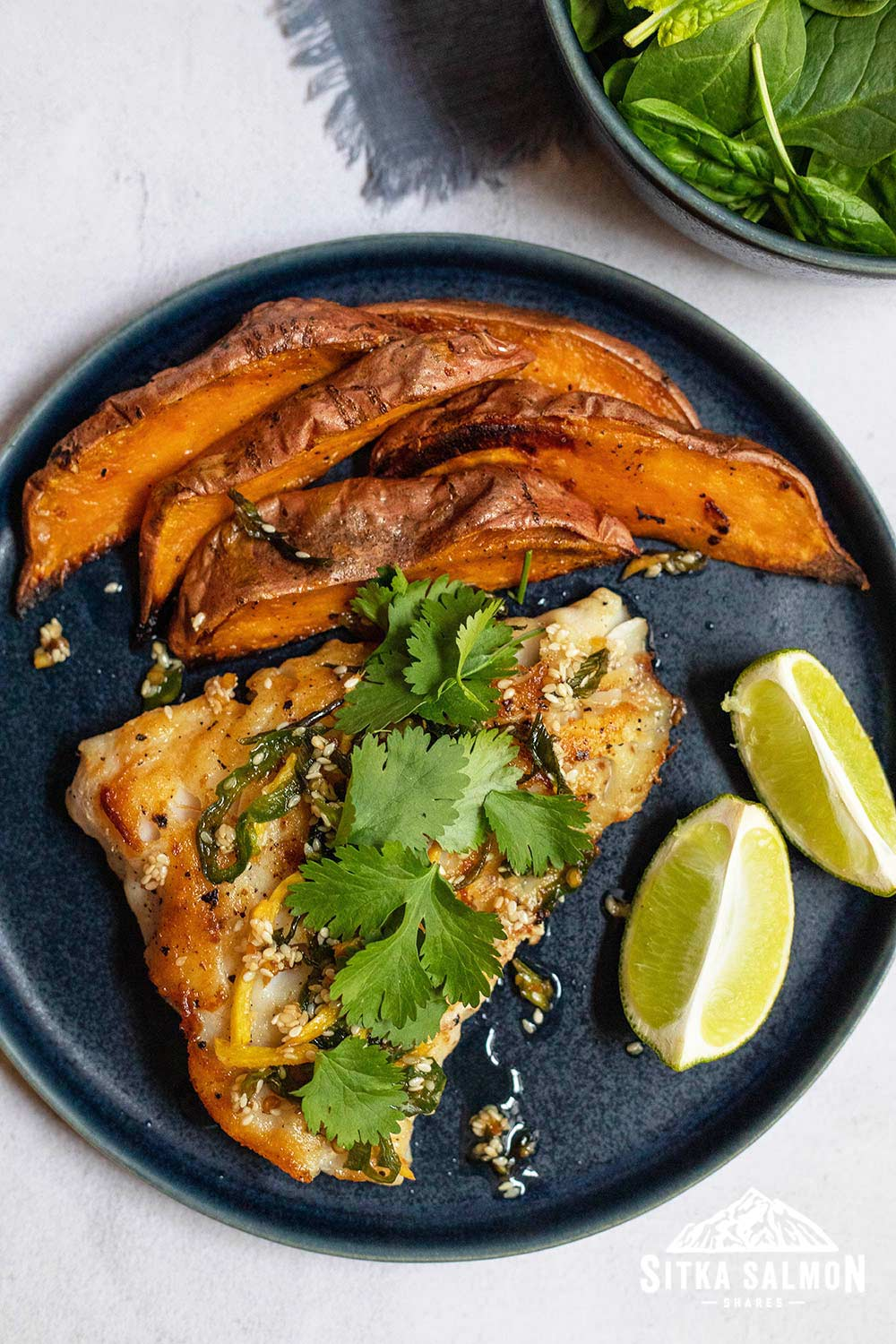 Seared Rockfish with Sizzling Ginger Sauce Recipe | Sitka Salmon Shares
