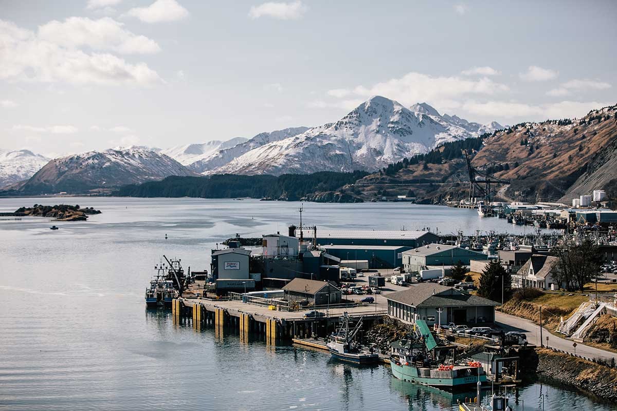 The docks of Kodiak